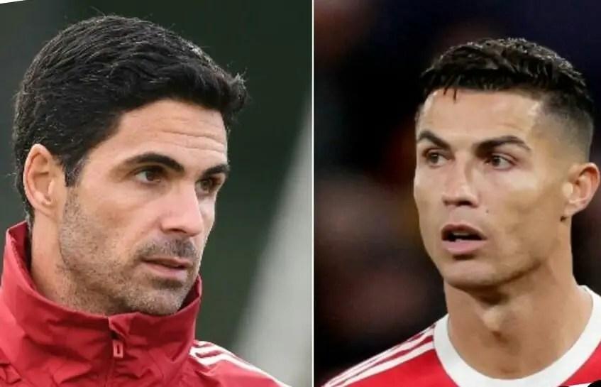 Ronaldo, Arteta Win EPL September Player, Manager Of The Month Awards