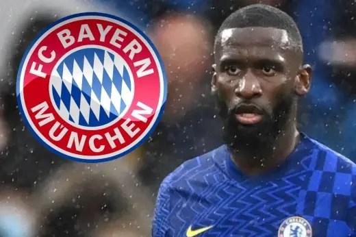 Rudiger 'Honoured' By Bayern Munich Transfer Interest