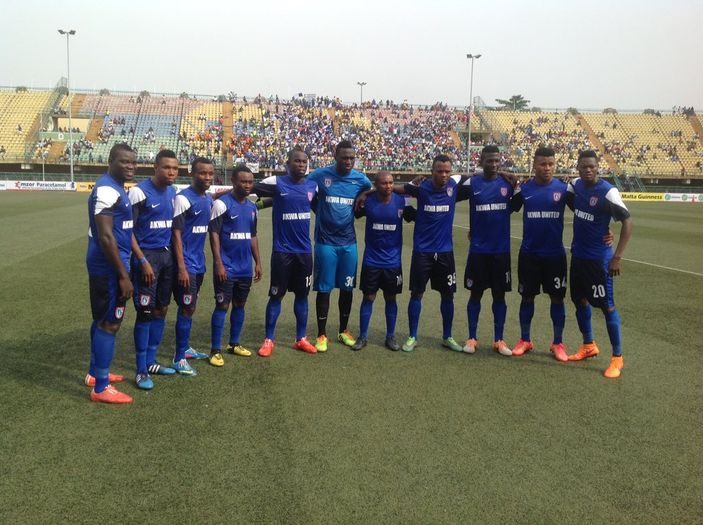 Fed Cup: Akwa United's Awakan, Ubong Win MVP, Golden Boot Awards
