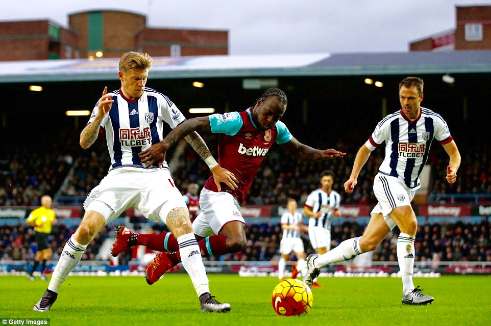 Moses Shines As West Brom hold West Ham