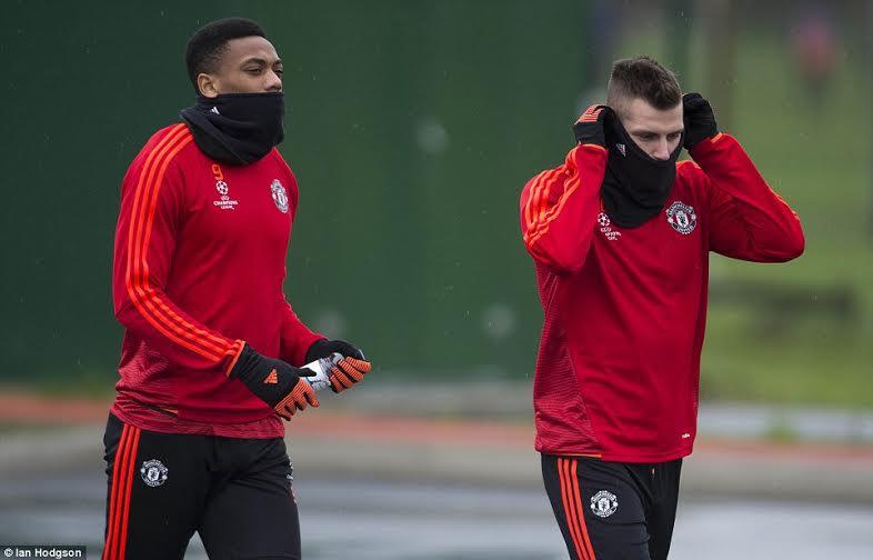 Van Gaal Declares Rooney, Martial, Fellaini Fit For PSV Clash