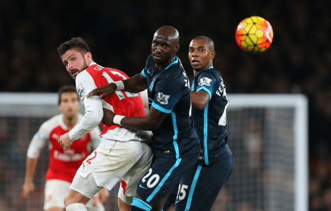 Iheanacho Benched, Ozil Shines As Arsenal Edge City To Go Second