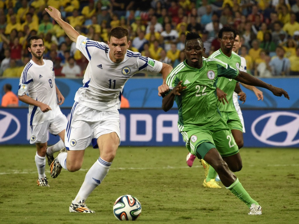 Dzeko Still Bitter About Bosnia's World Cup Defeat To Nigeria