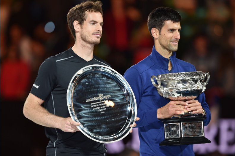 Djokovic Thrashes Murray To Win Sixth Aussie Open Title