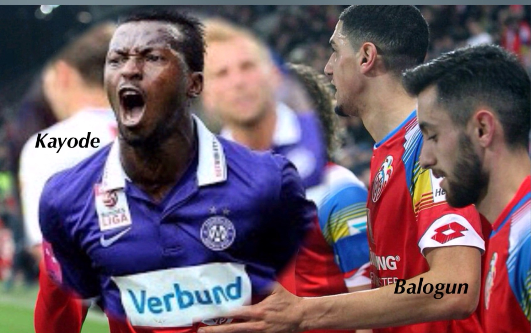Kayode On Target For Austria Wien;  Balogun, Enyeama, Ogbeche In Action