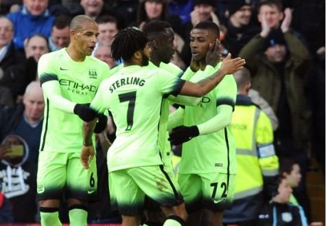 Iheanacho, Aguero, Sagna Nominated For Man City Player Of The Month