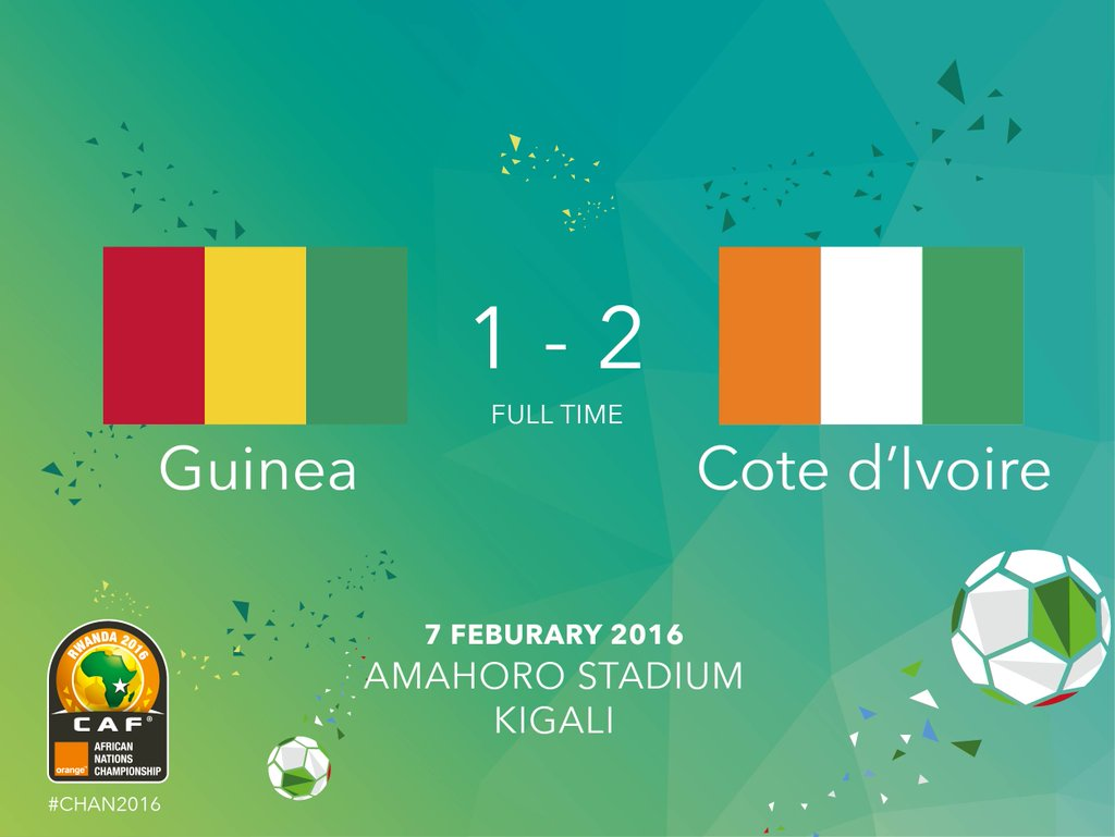 Cote d'Ivoire Beat Guinea To Claim CHAN Bronze