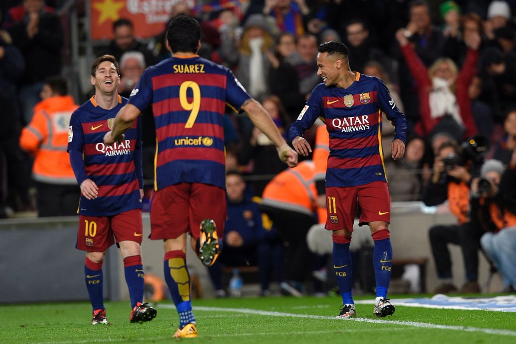 Messi, Suarez, Neymar Run Riot As Barcelona Smash Celta Vigo