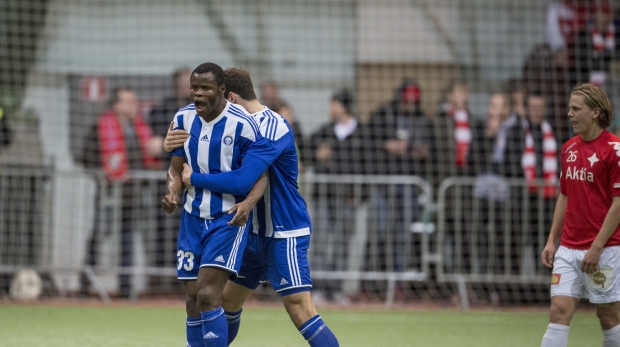 Taye Taiwo Scores in HJK Helsinki Cup Draw; Moses, Ujah In Action