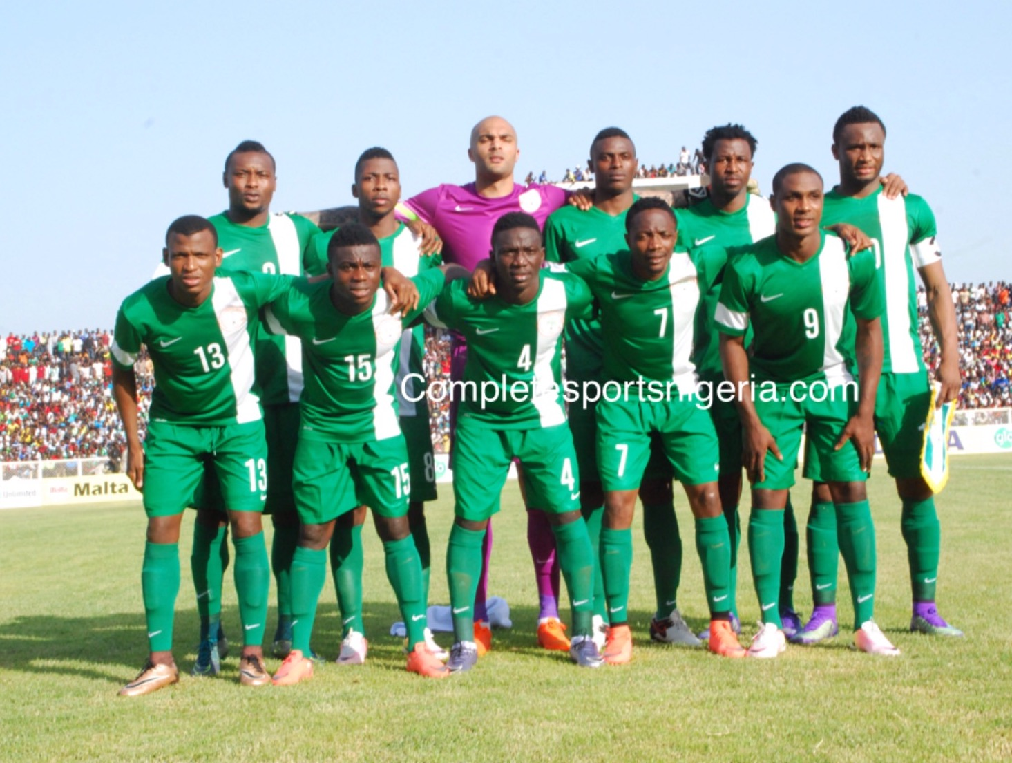 All 23 Players In Camp As Eagles Train For Zambia