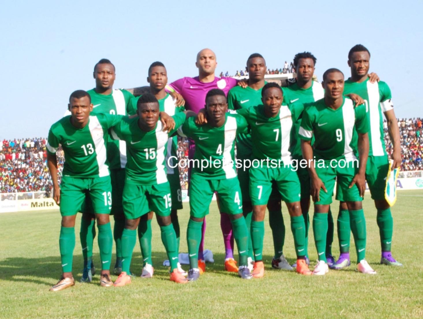 Nigeria Draw Cameroon, Algeria, Zambia In World Cup Qualifiers
