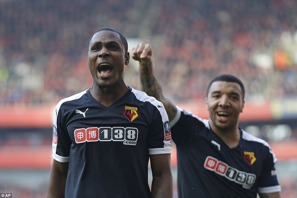 Deeney Thrilled As Ighalo Ends Goal Drought