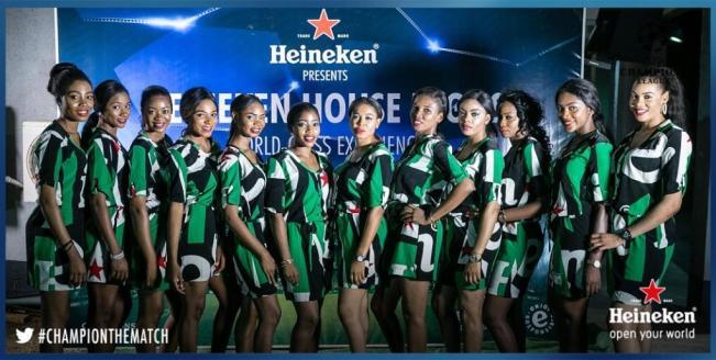 Heineken Hostesses