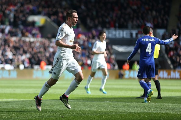 Mikel In Action As Swansea End Hiddink's Unbeaten EPL Run