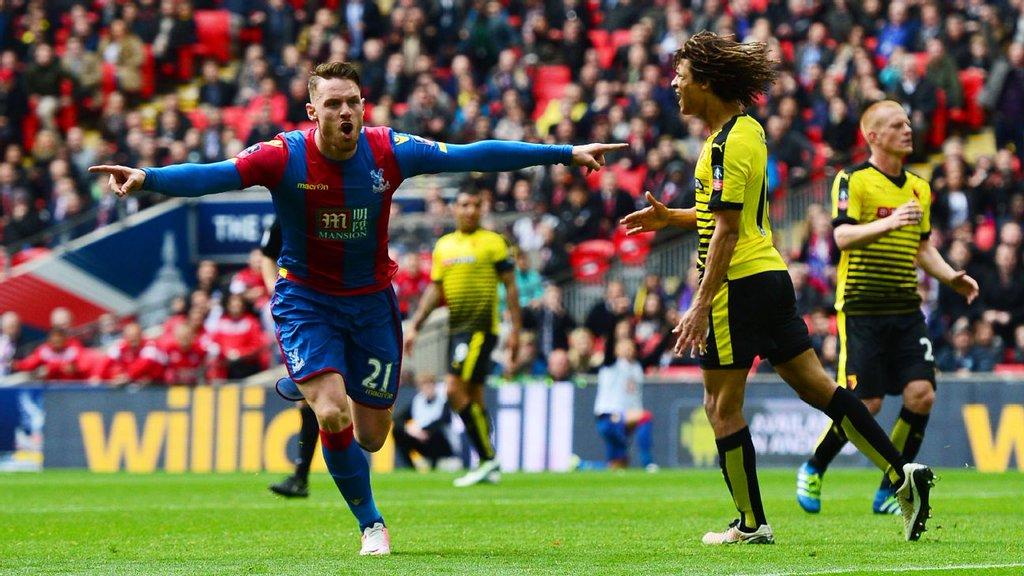 Palace Stop Watford, Ighalo; Set Up FA Cup Final Vs United