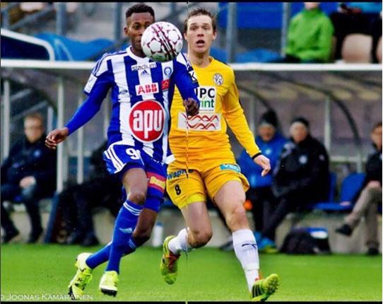 HJK Comeback Win Thrills Oduamadi