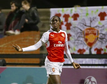 Oshoala Targets Women's FA Cup Title With Arsenal Ladies