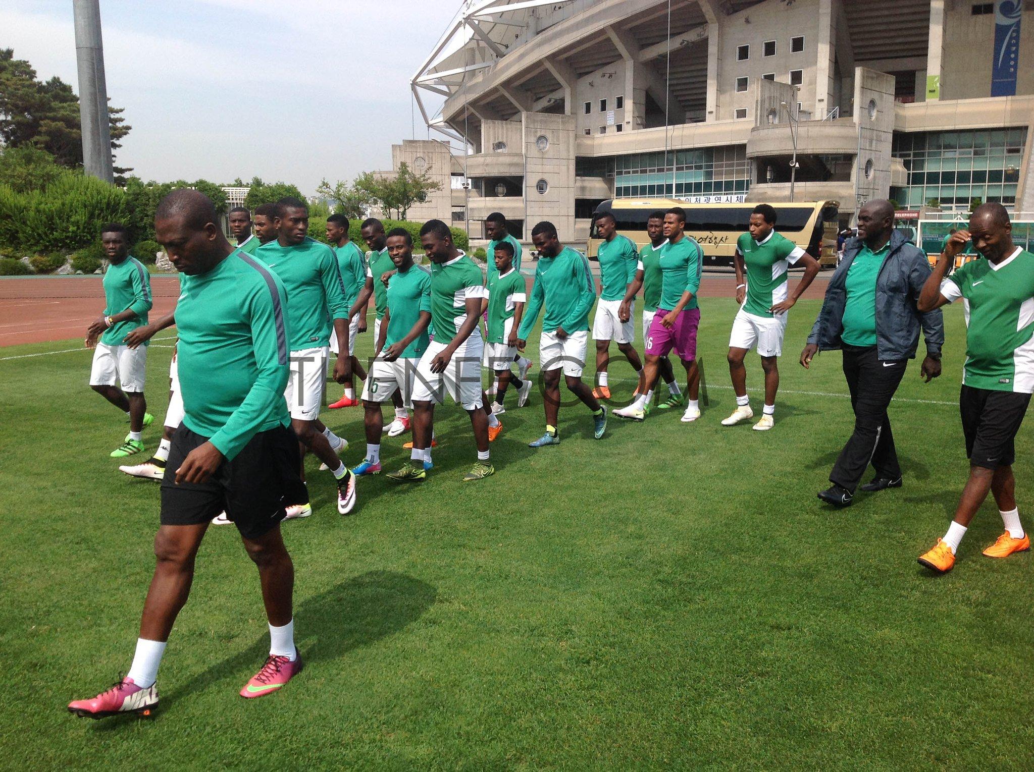 Suwon Tourney: Denmark Disgrace Nigeria U-23s 6-2!