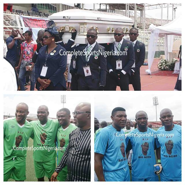 Keshi Laid In State, Honoured With All-Star Match