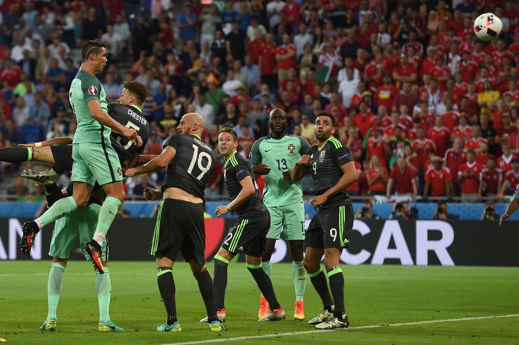 Ronaldo, Nani Fire Portugal Past Wales Into Final