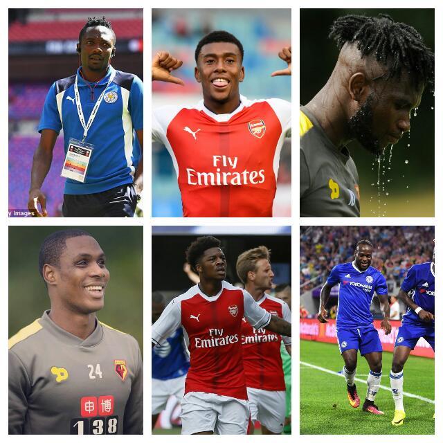 BIG KICK-OFF: 10 Nigerian Players To Follow As EPL Begins