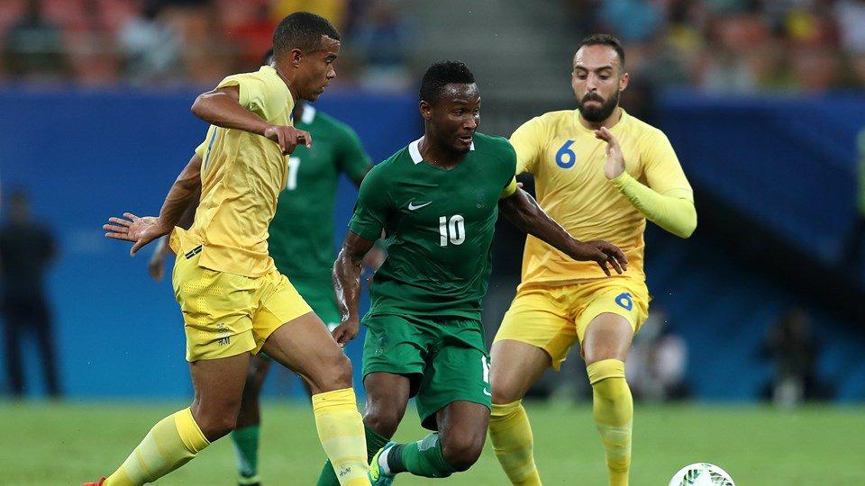 NIGERIA 3-2 EUROPE: Olympic Eagles Have Slight Edge Vs Denmark