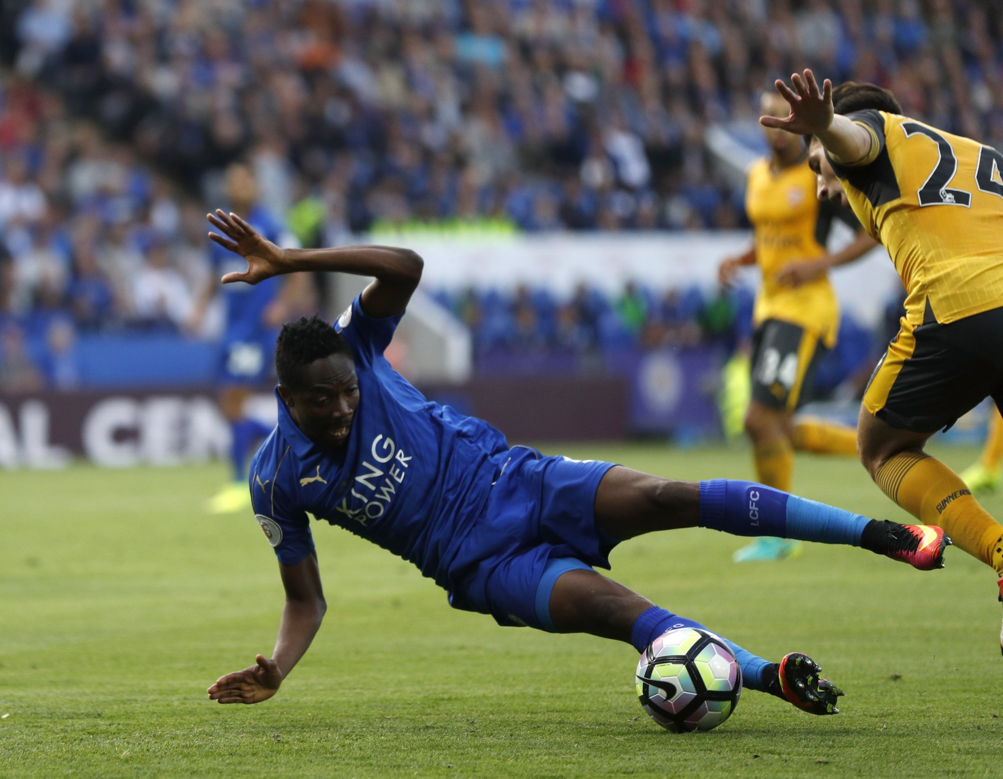 Musa Denied Penalty As Leicester, Arsenal Draw