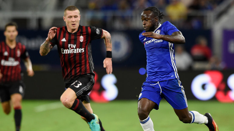 Moses's Fine Form Continues As Chelsea Pip Milan