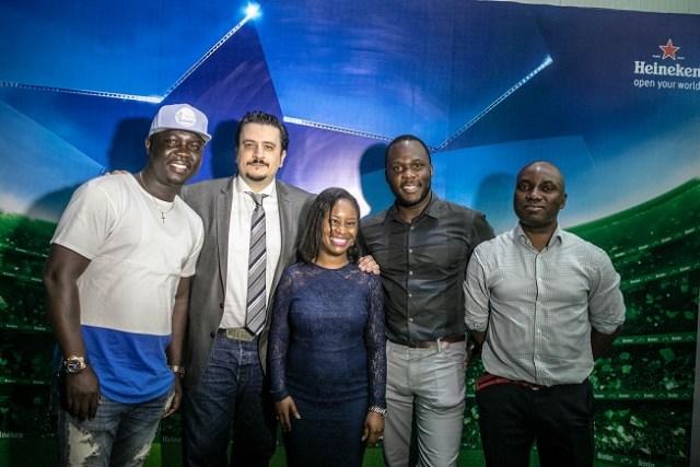 11.Seyi Law; Marketing Director, Franco Maria Maggi; Amina Jagun; Brand Manager, Obabiyi Fagbade; Portfolio Manager, International Brands, Sampson Oloche