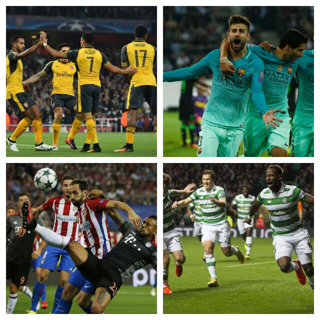 UCL: Iwobi Stars For Arsenal, Iheanacho Benched; Atletico, Barca, PSG Win