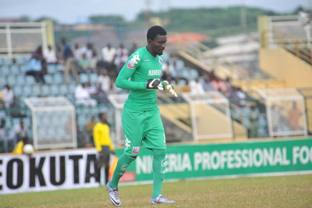 Rangers' Ghanaian Goalie, Bonsu: I'm Living My Dream In Nigeria