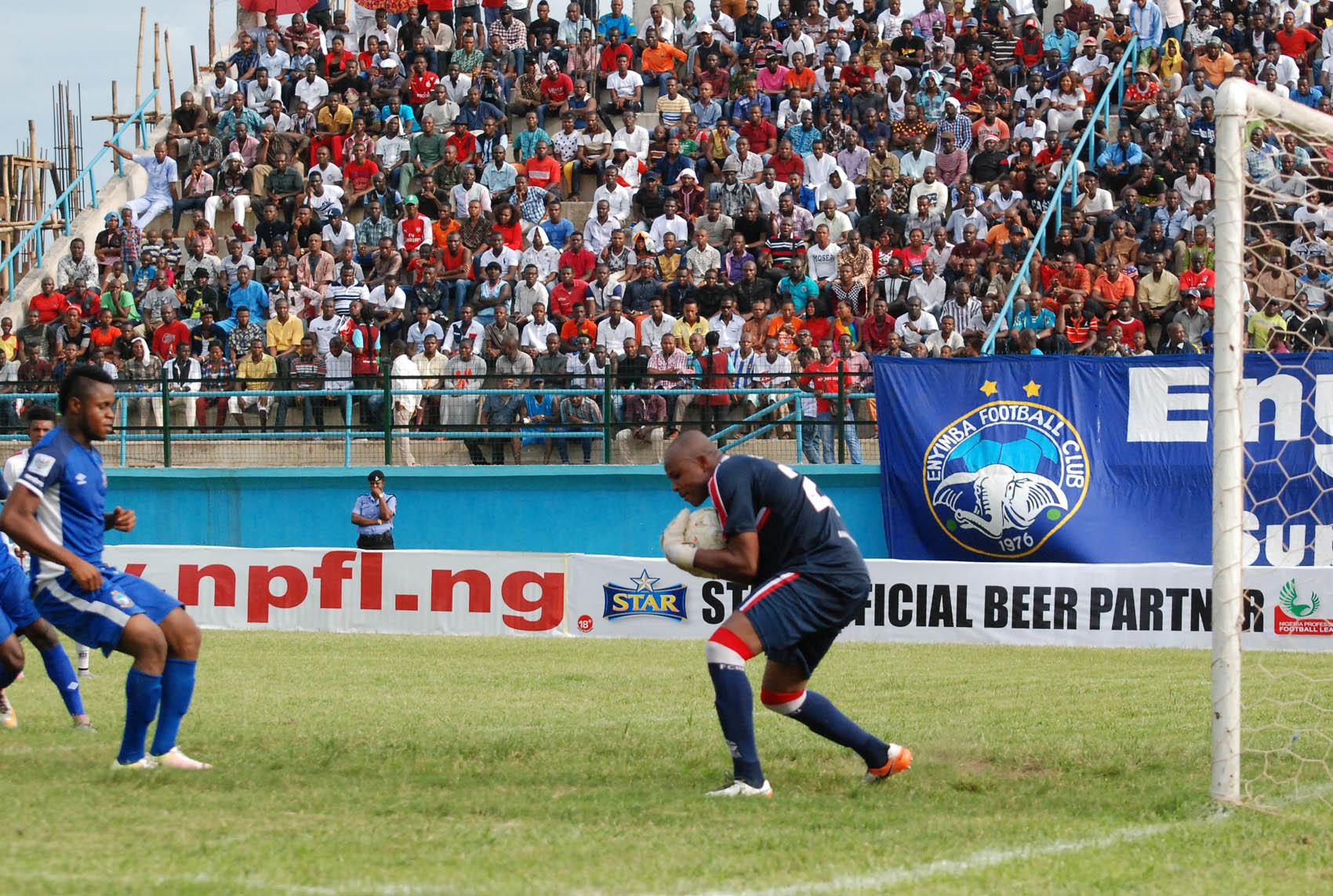 Ezenwa: I'm Fit And Ready For Zambia Showdown
