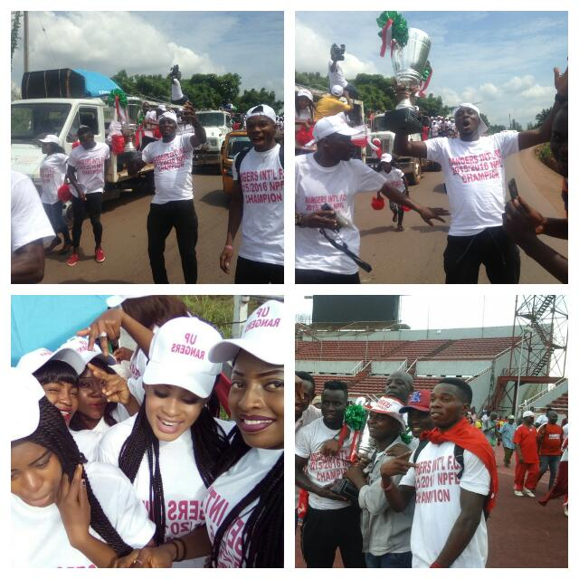 Image result for Enugu rangers victory parade