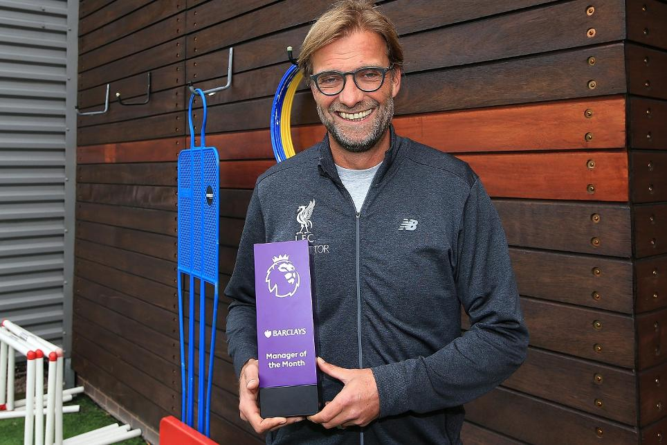 Klopp Beats Wenger, Pep To September EPL Manager Award
