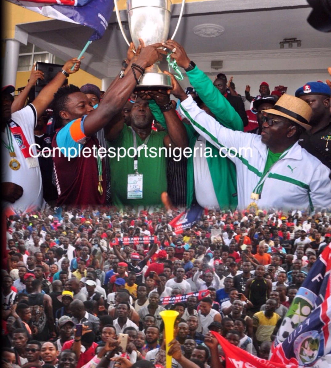 FC IfeanyiUbah To Stage Trophy Parade Wednesday