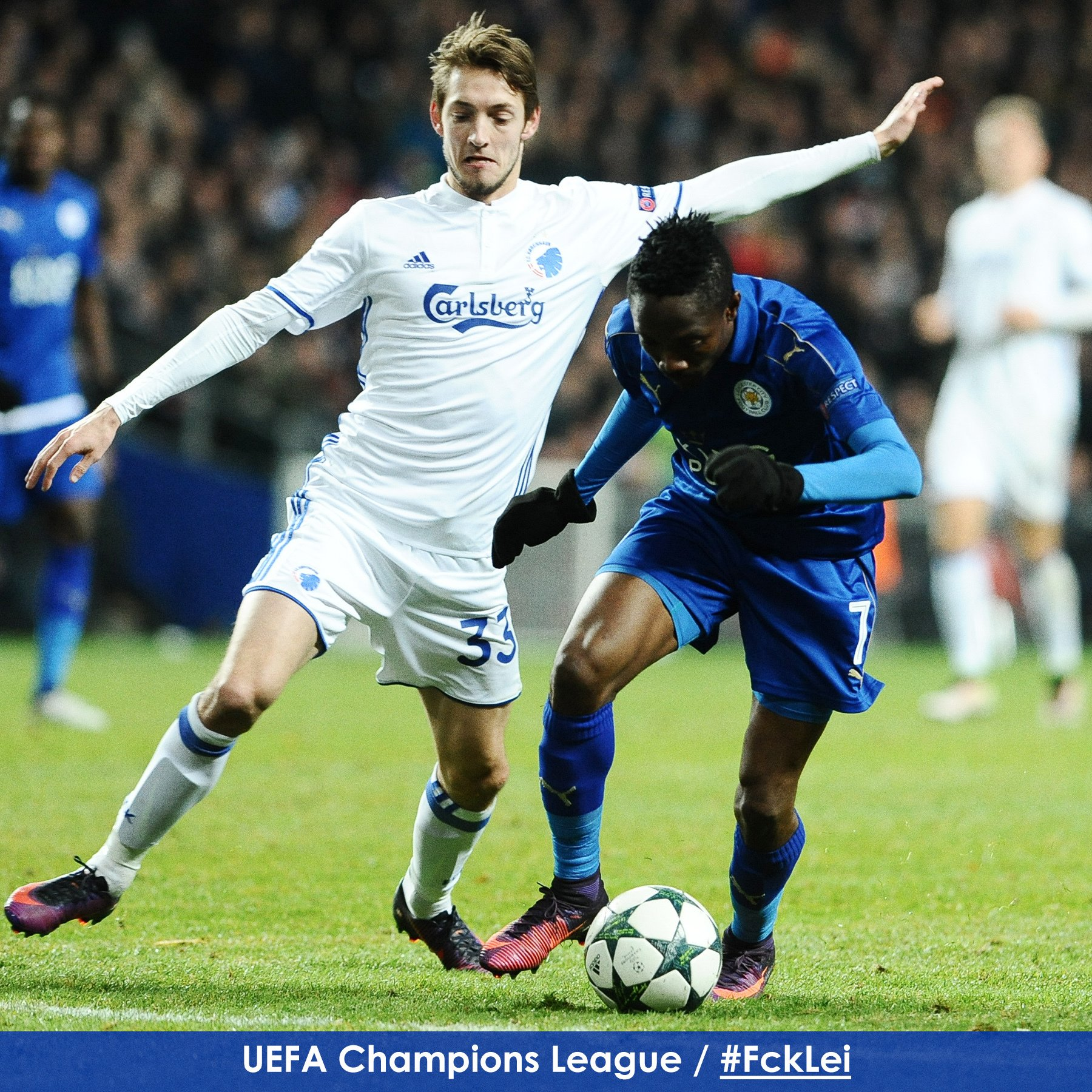 UCL: Musa's Leicester Draw; Real Escape Warsaw Defeat; Dortmund Advance