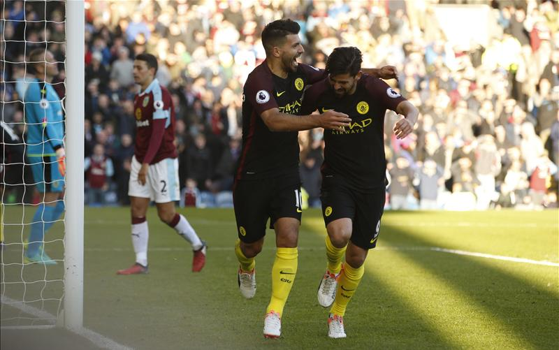 Iheanacho Benched Again As Aguero Fires City Past Burnley