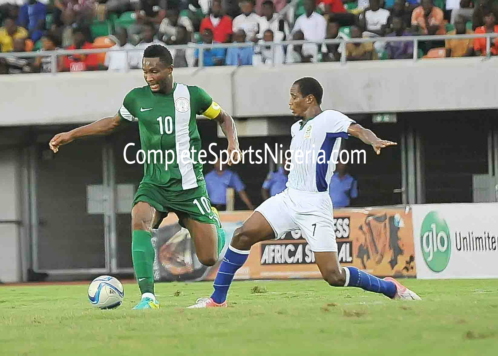 Pinnick Sure Eagles Will Beat Algeria, Expects Ikeme To Play