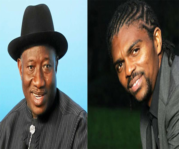 Former Nigeria President, Jonathan Condoles With Kanu Over Mother's Death