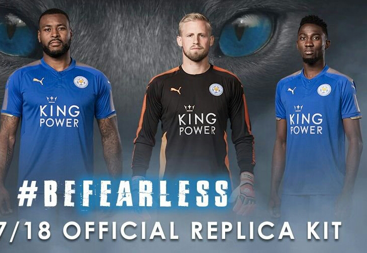 Ndidi Models New Leicester Jersey For Next Season