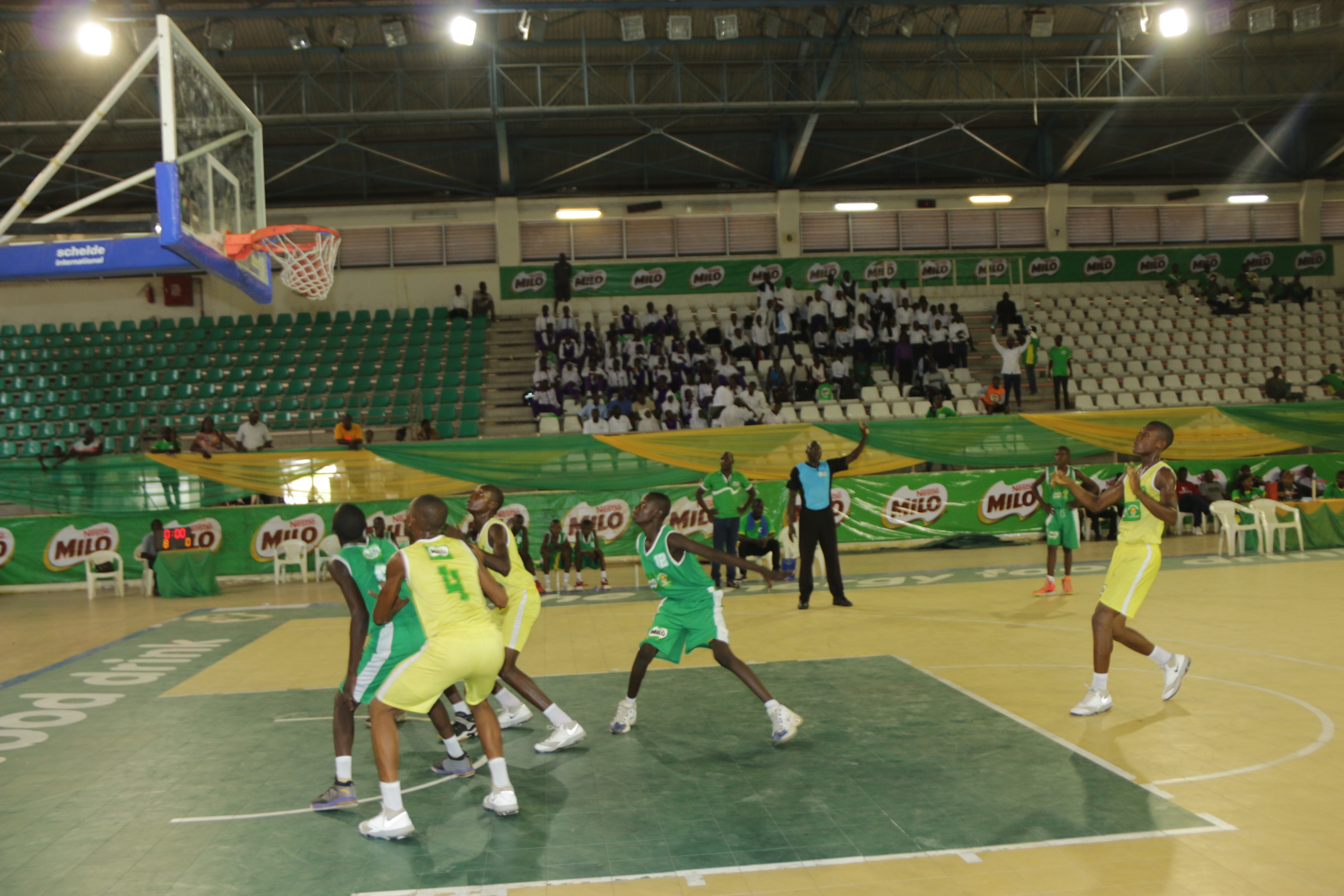 Abuja, Adamawa Qualify For National Finals Of 19th Edition Of Nestle Milo Secondary School Basketball Championship