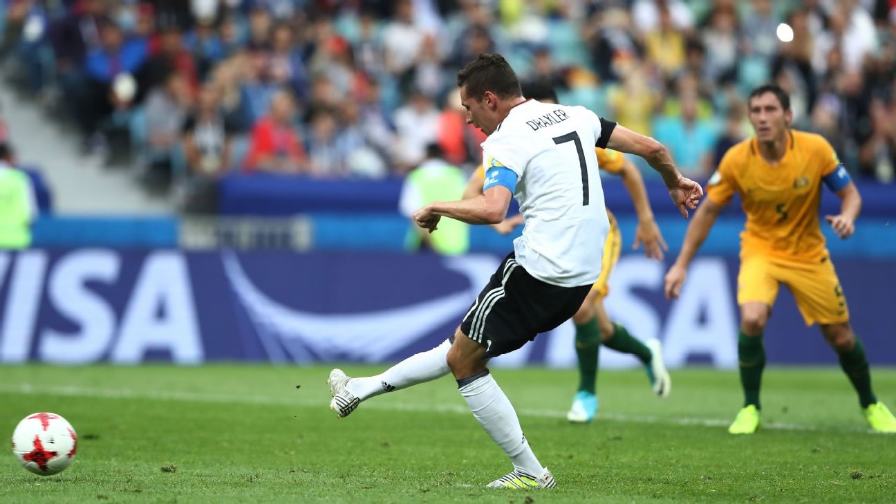 Germany beat Australia 3-2 in Confederations Cup
