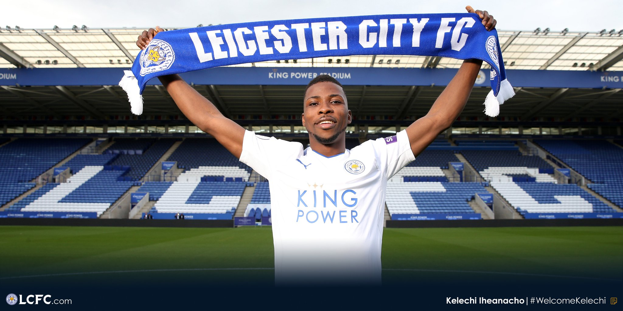 "Leicester Finally Complete £25m Deal For ""Happy"" Iheanacho"