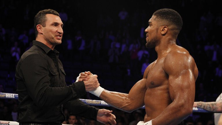 "Klitschko Passes Torch, Proud Of ""Little Bro"" Joshua"