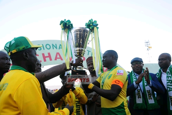 Image result for Plateau United vow to win title after govt reward