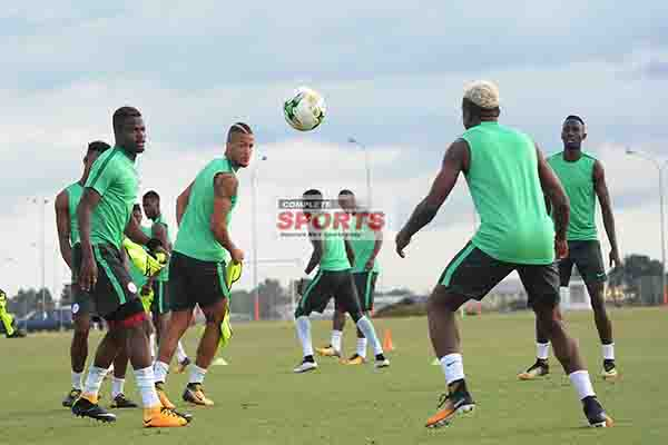 Pinnick wants Super Eagles to be calm, clinical