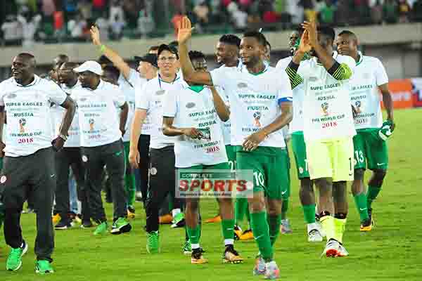 Premier Lotto Rewards Super Eagles With N50m For World Cup Ticket
