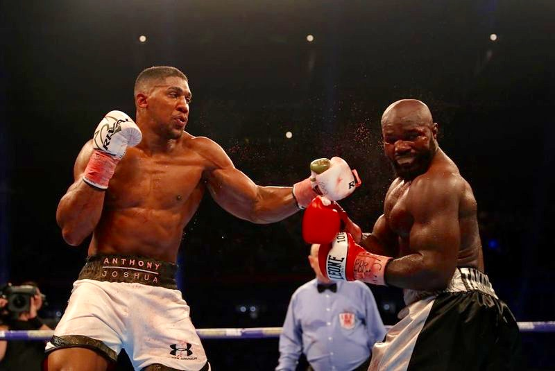 Image result for Carlos Takam wants rematch with Anthony Joshua, blames referee
