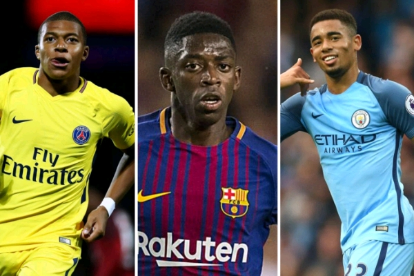 https://i1.wp.com/www.completesportsnigeria.com/wp-content/uploads/2017/10/Mbappe-Dembele-and-Jesus.jpg?fit=600%2C400&ssl=1