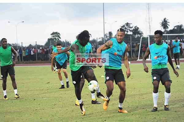 Moses, Iwobi Join Super Eagles Training As 25 Players Prepare For Zambia